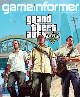 game informer gta v cover Grand Theft Auto V   Game Informer Cover