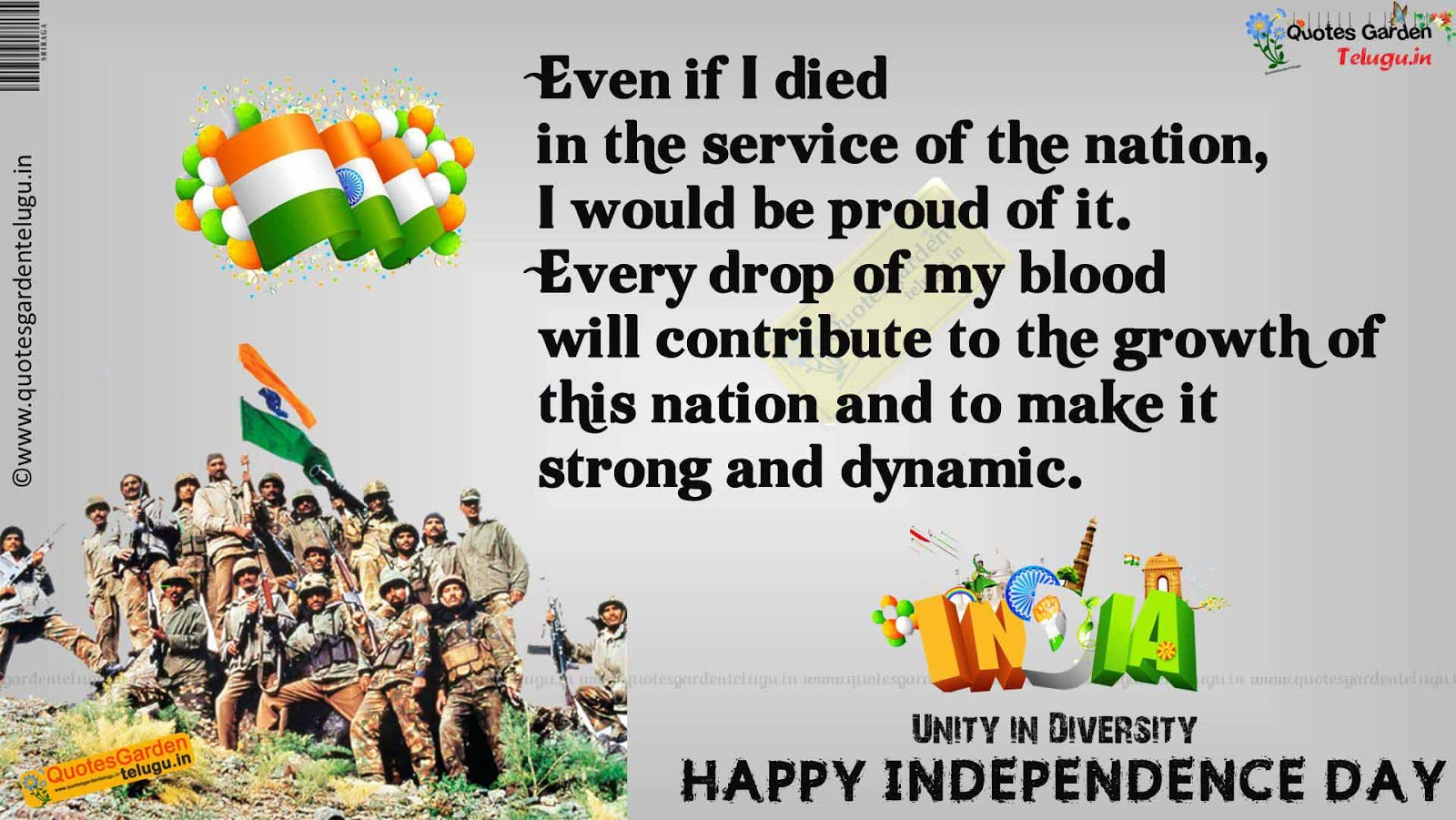 Independenceday Indian Army Quotes Wallpapers Images 852 Quotes