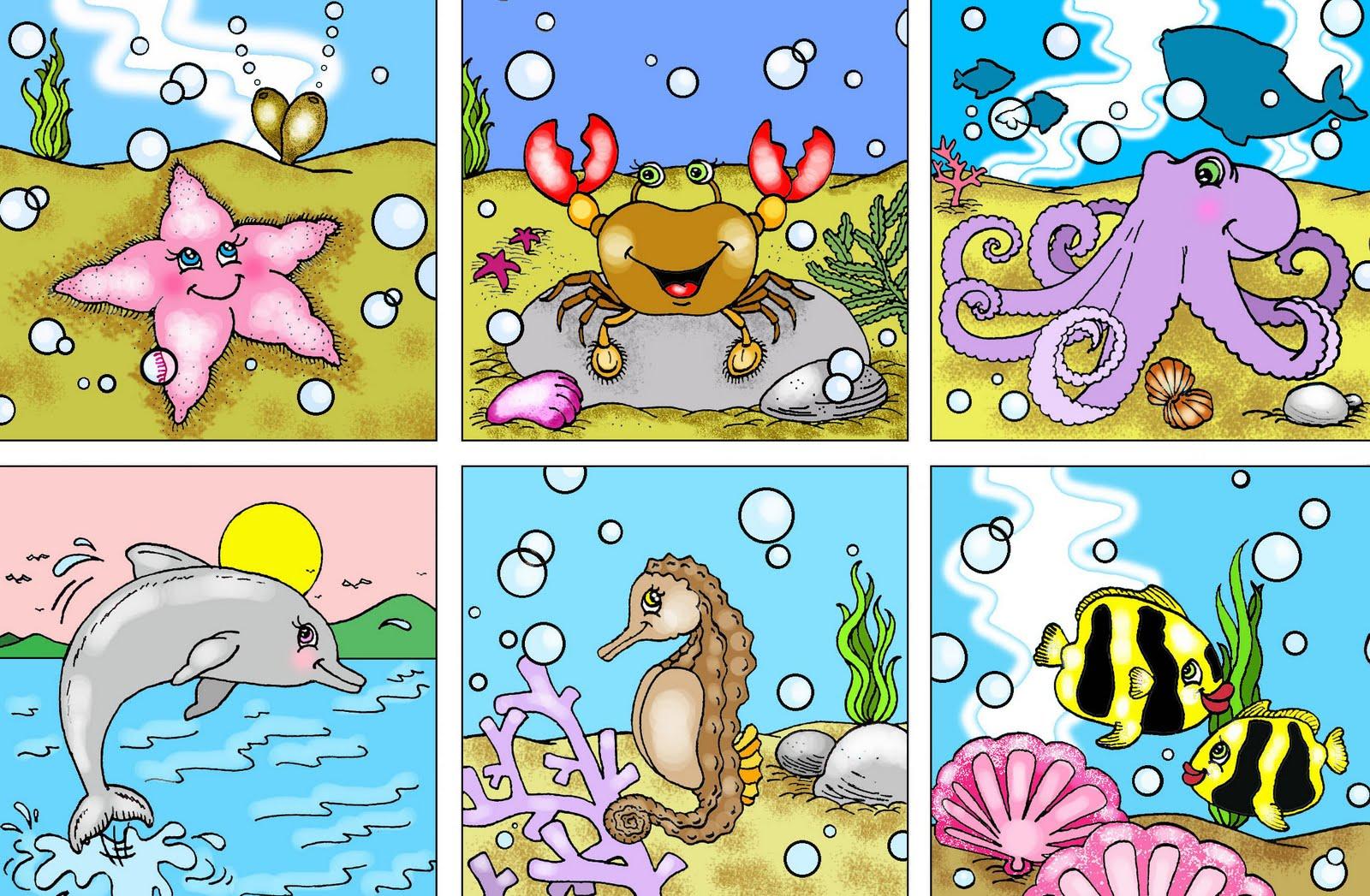 banco de jardim poesia:Aprender Brincando: Atividade – Projeto Fundo do mar 8
