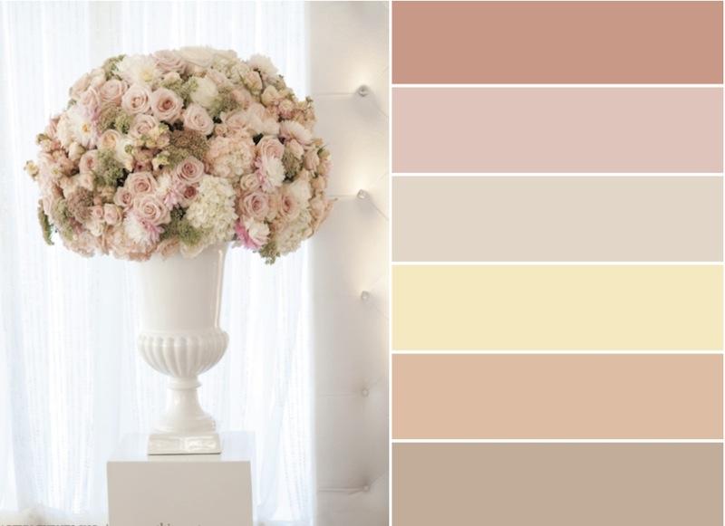 Wishes eventos d cor inspira o blush cream nude e fendi - Paleta de colores neutros ...