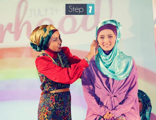 jilbab untuk pesta