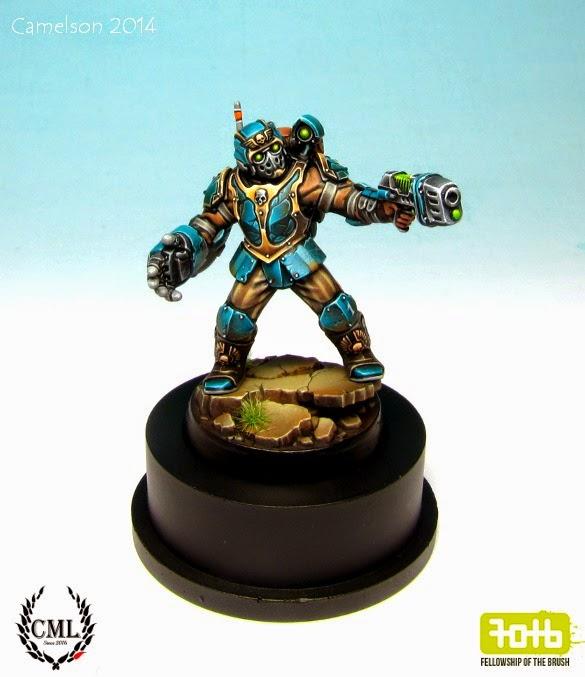 Tempestus Scion Painted Mini For Sale On Ebay Wargaming Hub