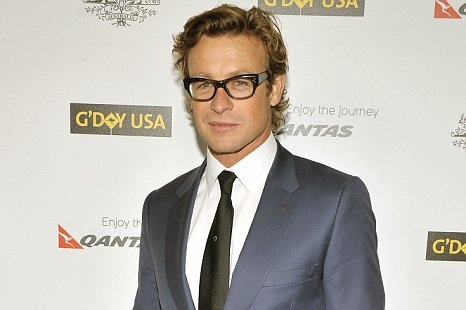 simon baker fake american accent