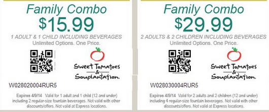 Souplantation discount coupon