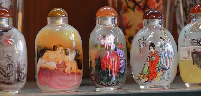 Pagoda Street Singapore perfume bottles