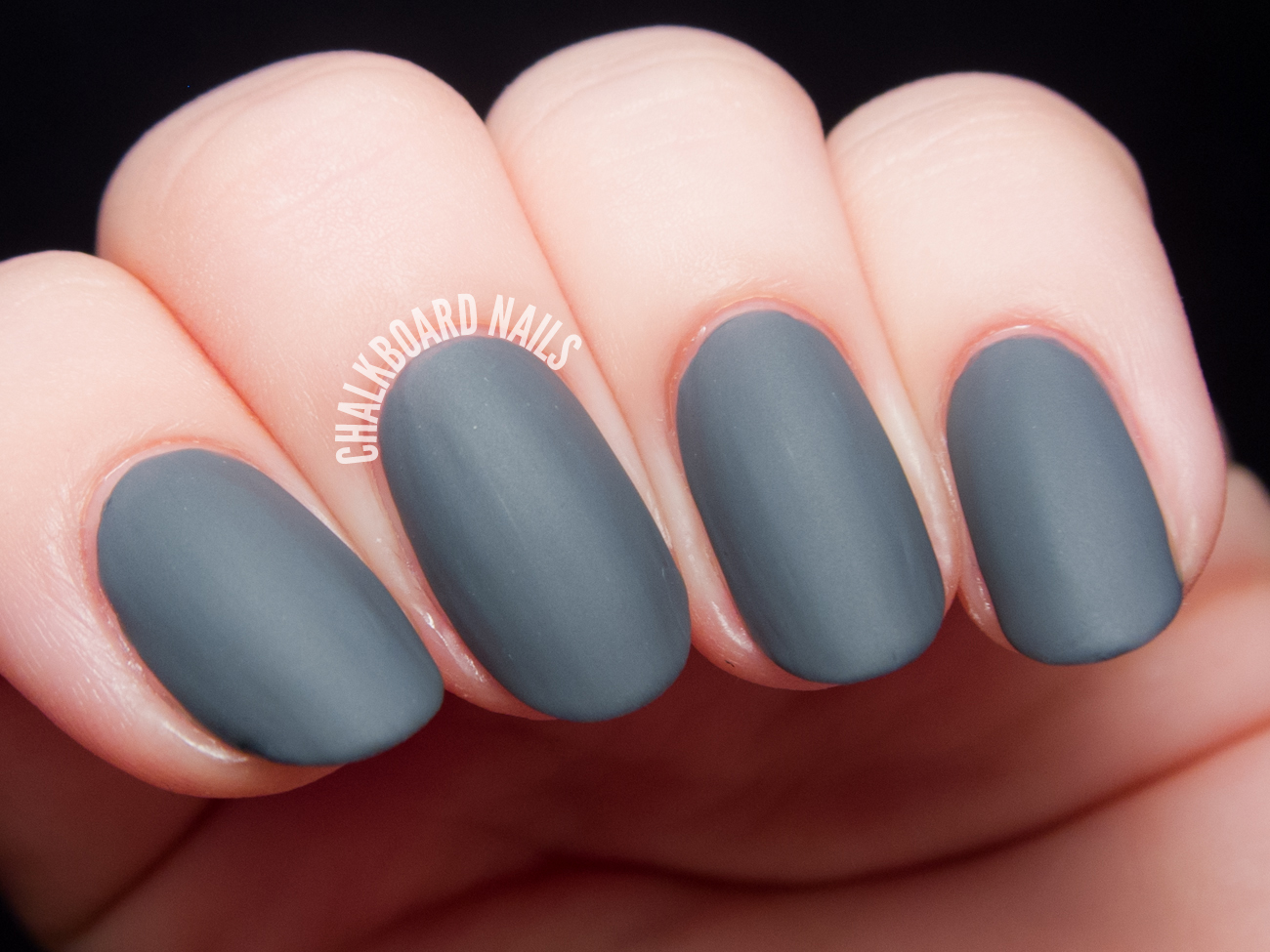 Cirque Colors Concrete Jungle (with matte topcoat) via @chalkboardnails