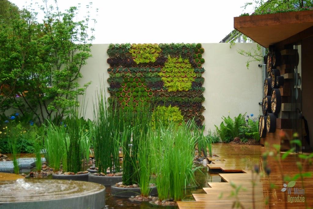Ciekawe pomysły na pustą ścianę w ogrodzie
