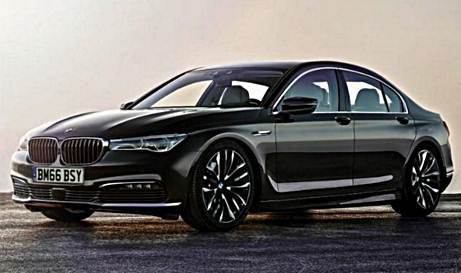 2017 BMW G30 5 Series Sedan Rendering