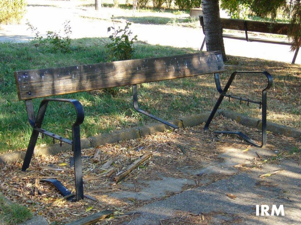 Avantales sillas y bancos for Sillas para parques