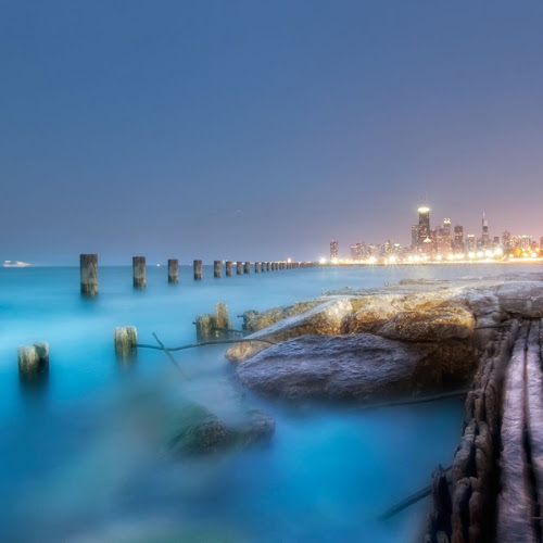 Indahnya Kota-Kota Besar Di Saat Malam