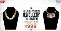 Homeshop18: Style Statement -Hi End Fashion Jewellery Collection By Fayon at Rs.999 : Buy To Earn