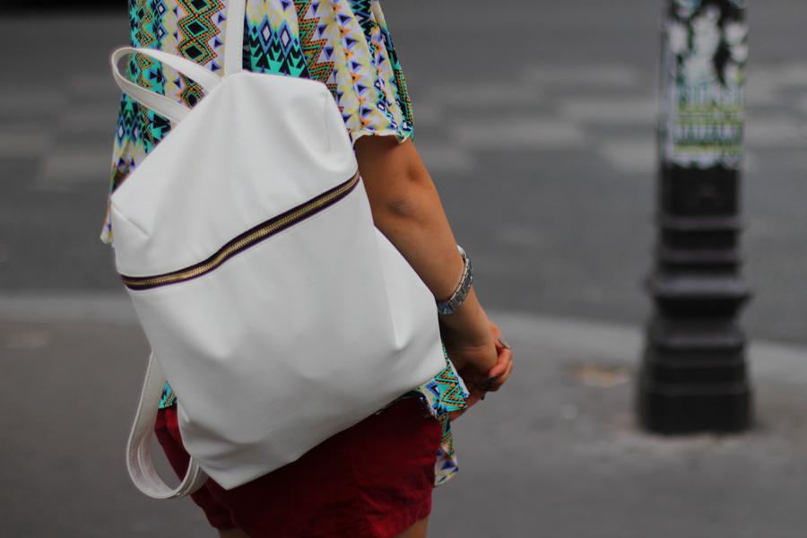 weißer rucksack primark