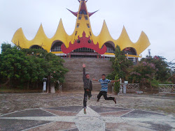 Tower of Siger Lampung Island