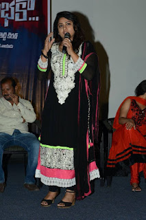 Actress Jyothi Latest  Pictures in Black Chididar At Sahasam Cheyara Dimbhaka Trailer Launch   (15)