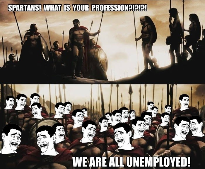 Spartans' Profession