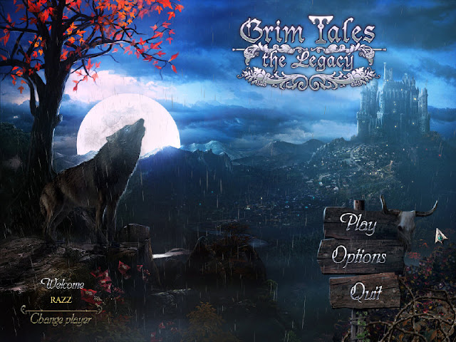 Grim Tales 2: The Legacy Collector's Edition Main Menu