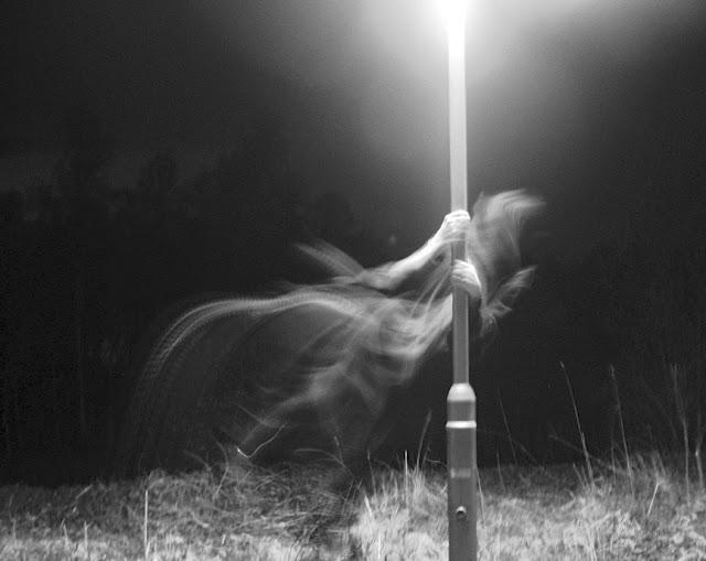 Ghost light post