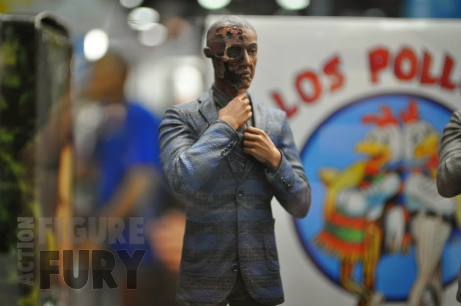 Action Figure Gus Fring Burned Face Breaking Bad