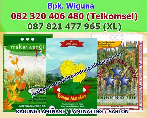 Supplier Karung Beras, Karung Plastik Bandung, Pabrik Plastik Bandung