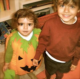Disfraz de Halloween Calabaza para niños