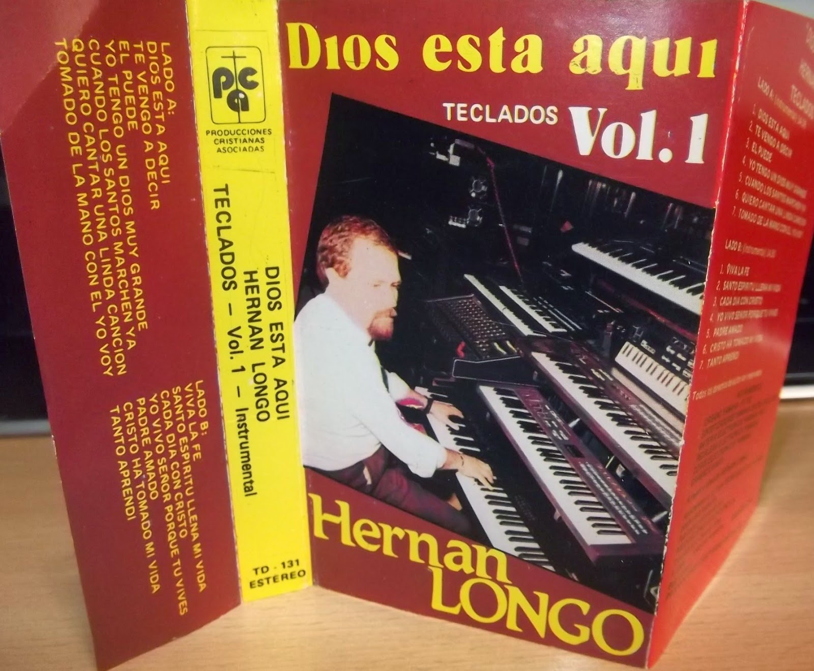 Hernán Longo-Vol 1-Dios Está Aquí-