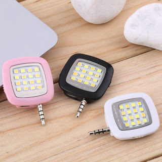 Mini Portable Smart LED Camera Fill-in Flash Selfie Light For Cellphone IG