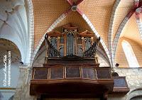 Magallón Iglesia San Lorenzo Martir Castillo de Magallón Moncayo Organo