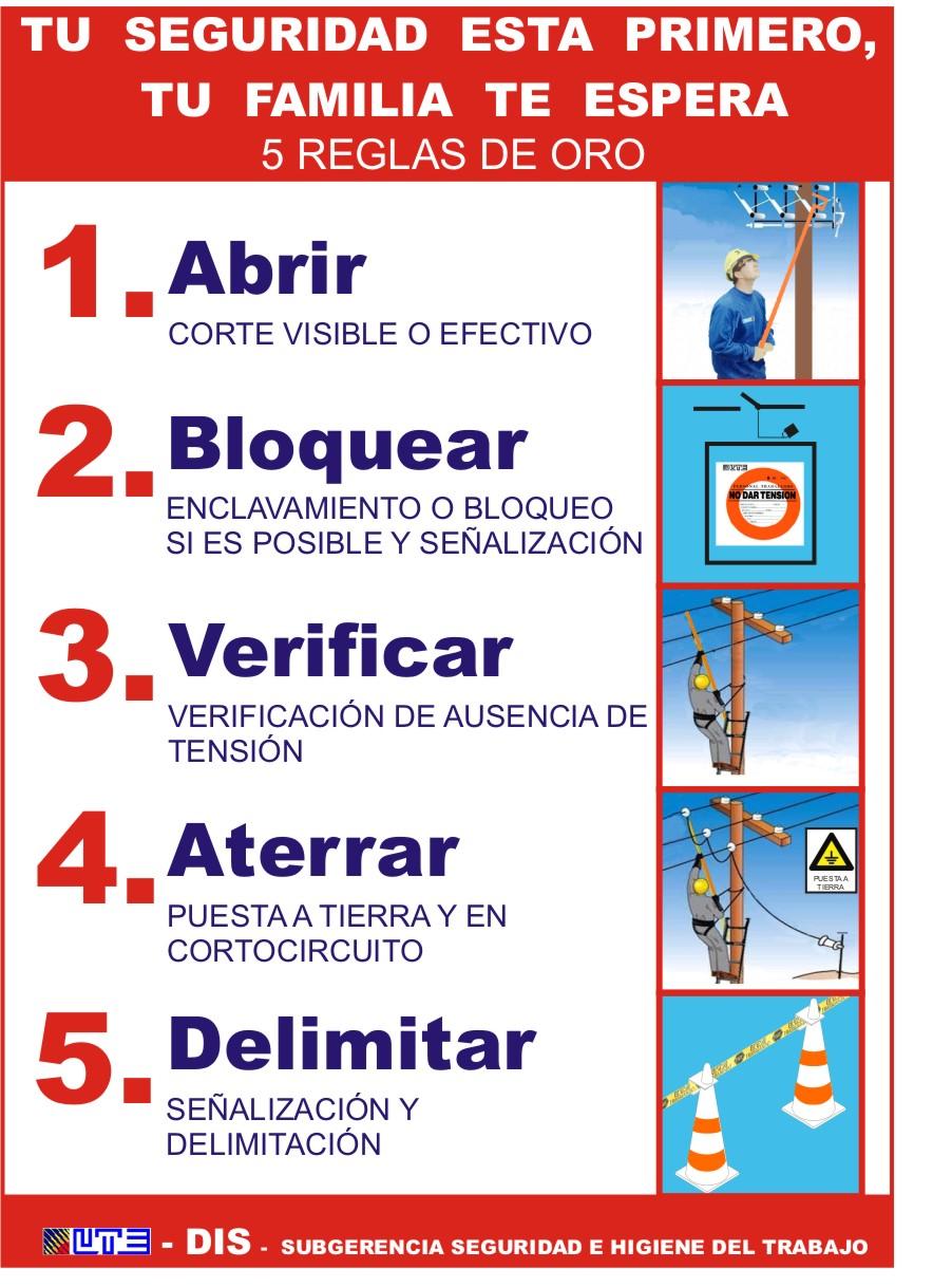 5 regla oro: