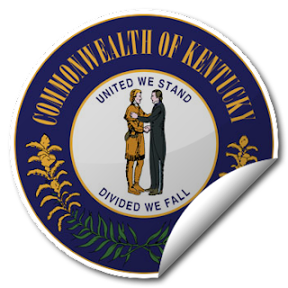 Sticker of Kentucky Seal