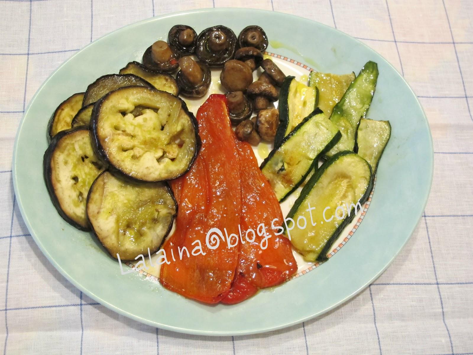 La casa de lalaina verduras asadas al horno - Verduras rellenas al horno ...