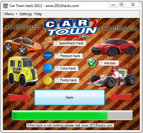 CAR TOWN HACK 2012 | VIP Hack Cheat