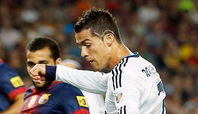 Cortes de pelo de Cristiano Ronaldo - TenerClase.com