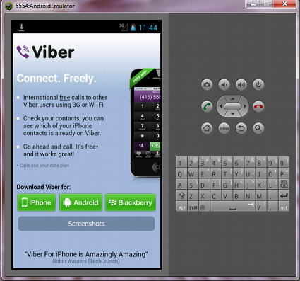 viber  for windows 7 professional