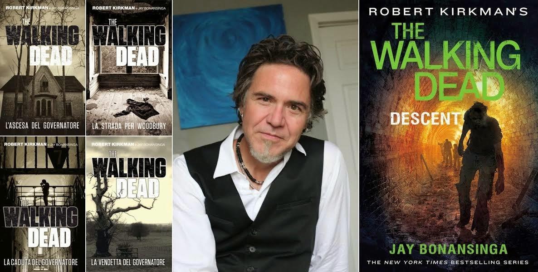 Jay Bonansinga e i romanzi di The Walking Dead