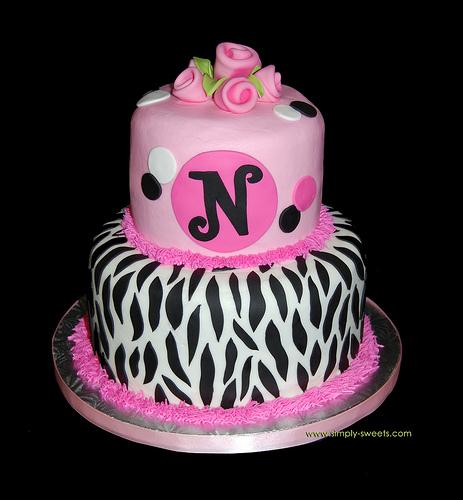 Zebra Birthday Cakes My Sexy Wife