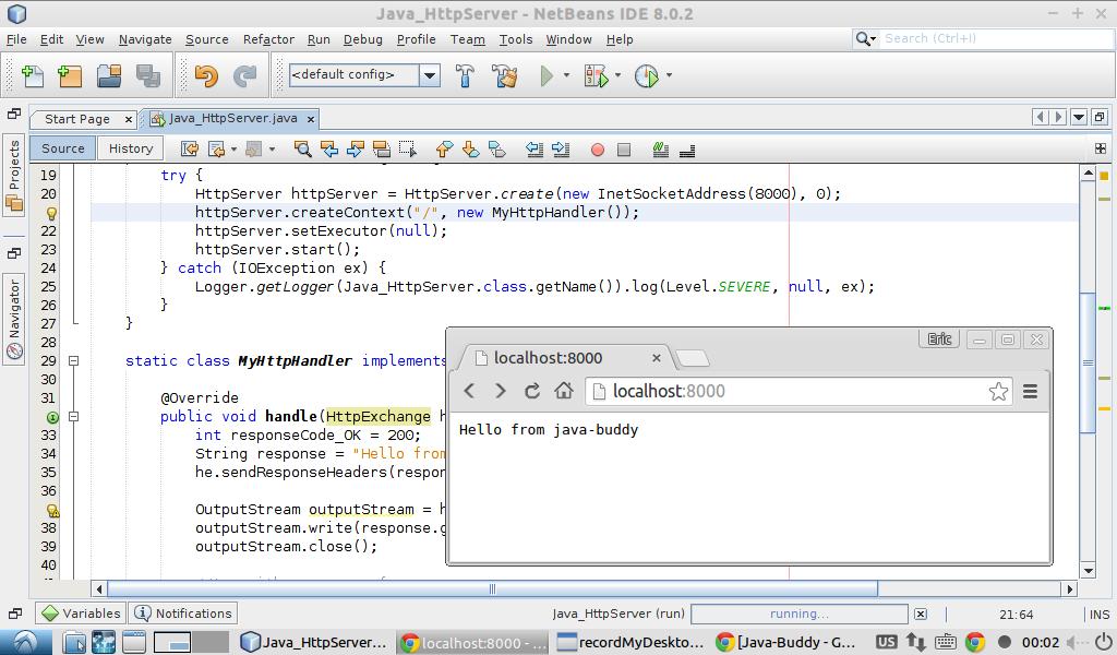 Java http server
