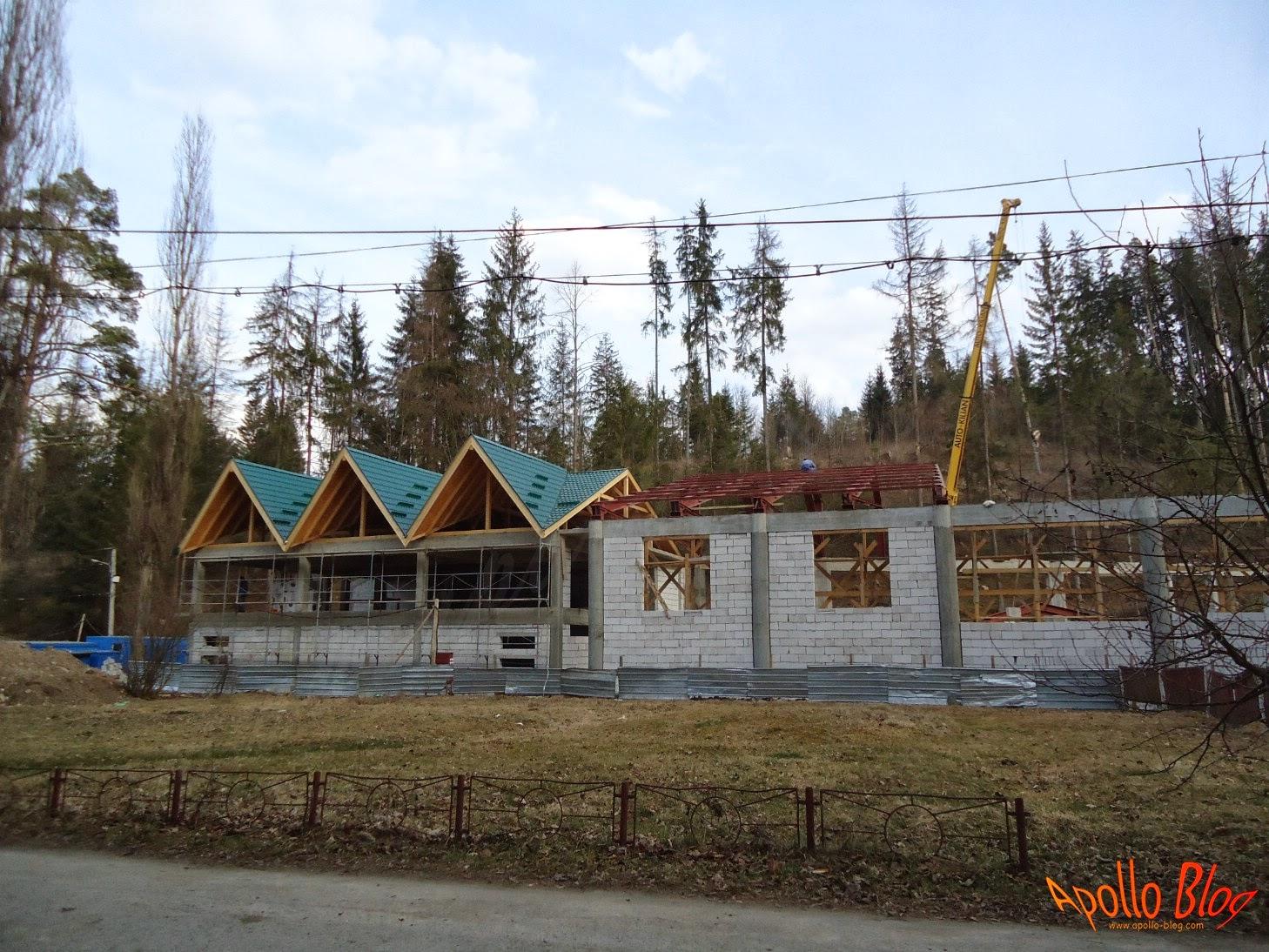 Constructie bazin acoperit Toplita