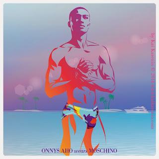 Onnys Aho in The Swim Suite, swimwear editorial by Kai Karenin