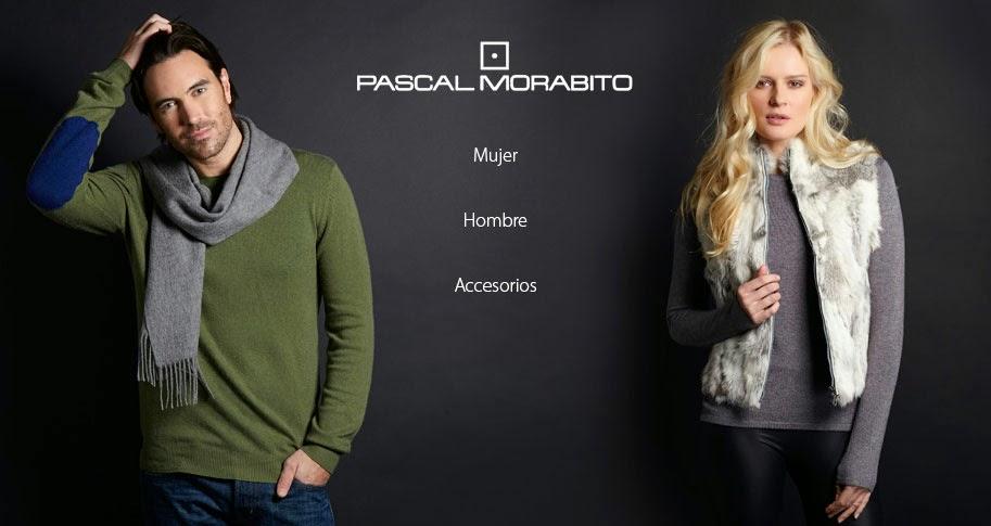 Ropa y accesorios para hombre y mujer de Pascal Morabito hasta el 31 de octubre.