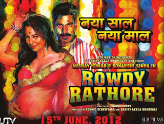 Rowdy Rathore Movie Poster – Akshay Kumar and Sonakshi Sinha