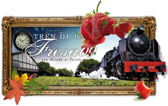 Cartel Tren de la Fresa 2009