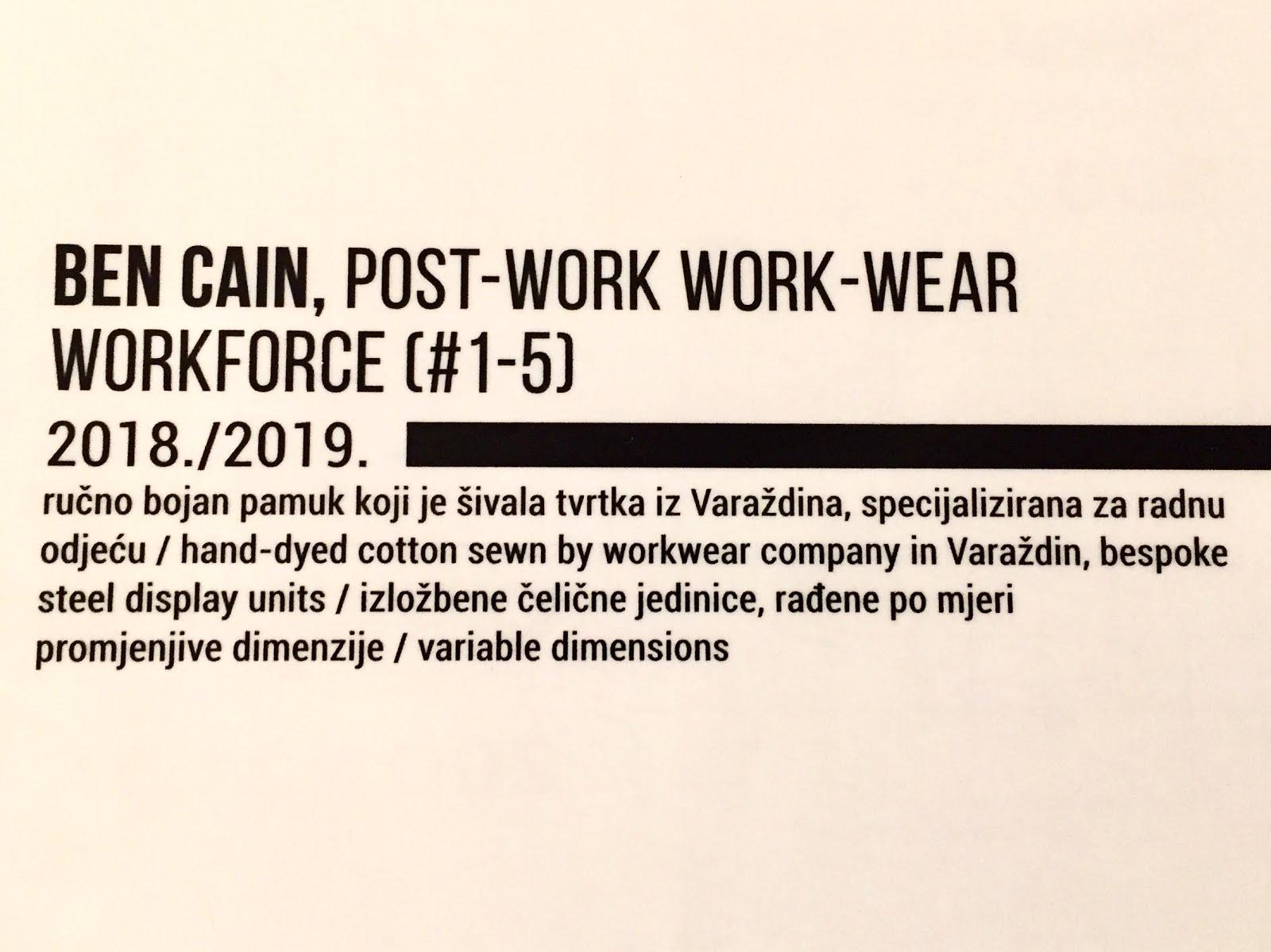 Post-Work Work-Wear No's 1-5