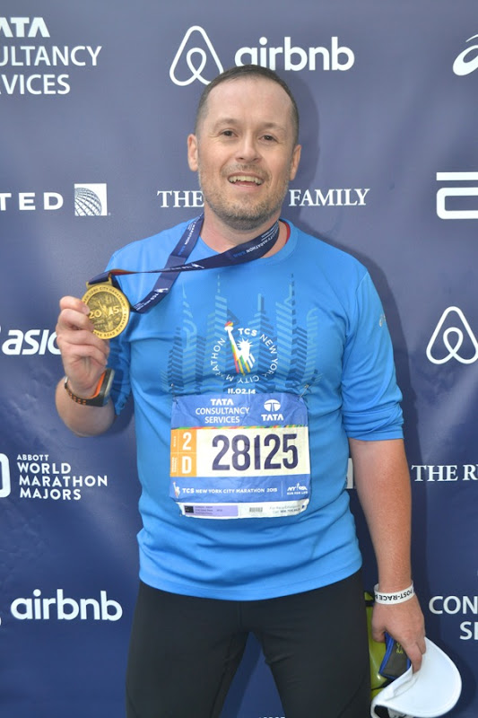 2015 New York Marathon Finisher