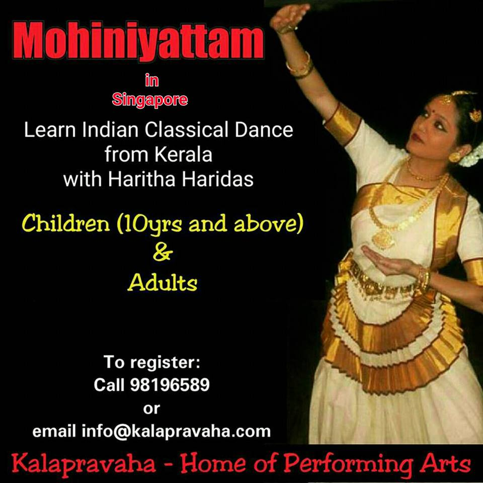 Mohiniyattam Classes in Singapore
