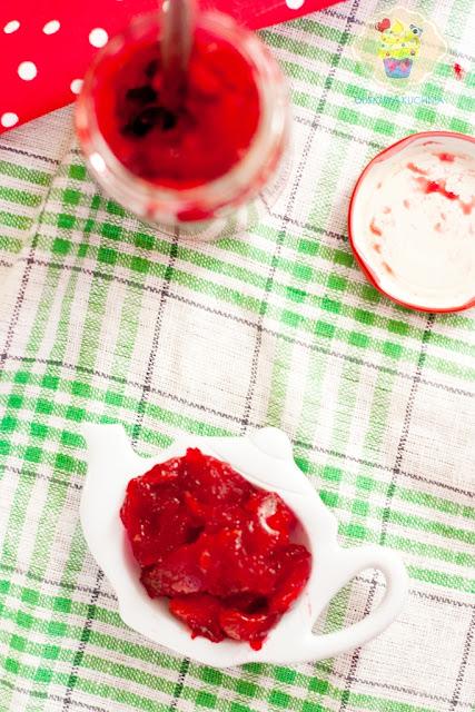 frużelina wiśniowa, przepis na frużelinę