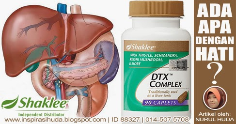 Shaklee DTX Complex Untuk Kesihatan Hati