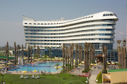 In 2005, 84% of the population of metropolitan Dubai was foreignborn, . (concorde hotel exterior dubai)