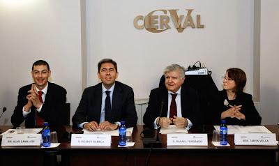 Rambla subraya la internacionalización de nuestras empresas y la salida a mercados del exterior como claves para superar la crisis