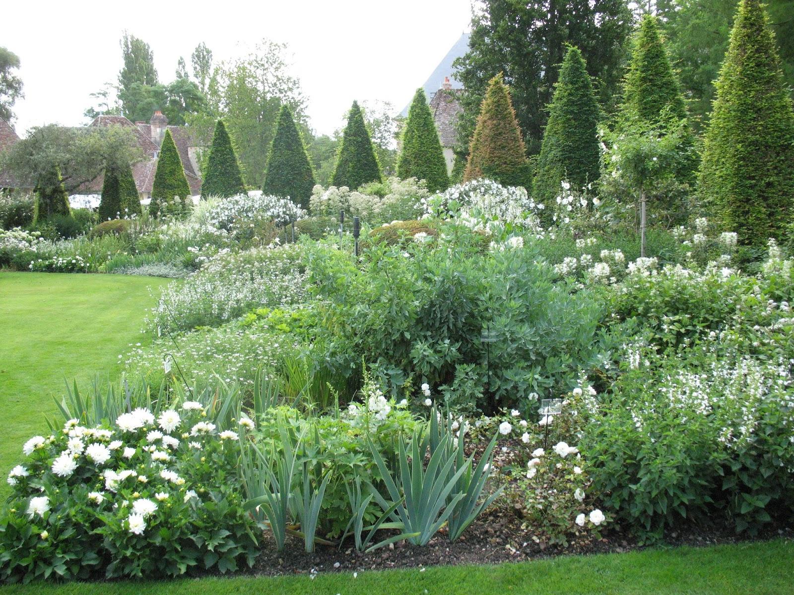 Roses du jardin ch neland un beau jardin blanc for Apremont sur allier jardin