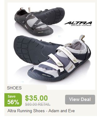 NoMoreRack: $25 Altra Running Shoes After Coupon (Value is $80!)